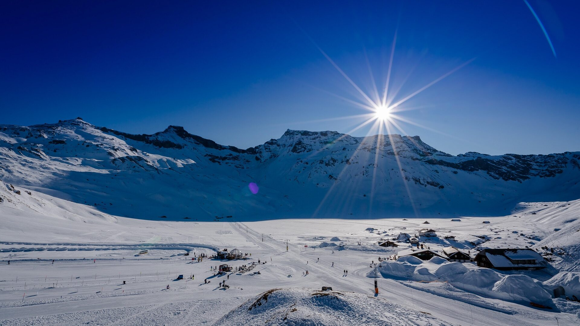 Engstligenalp im Winter